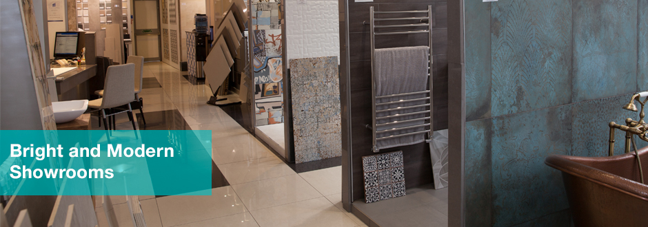 Bright and Modern Tile Showroom in Battersea